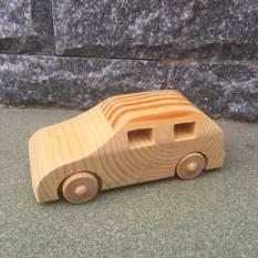[CÓ CLIP THẬT SP] Xe ô tô đồ chơi gỗ an toàn cho bé hàng xuất khẩu