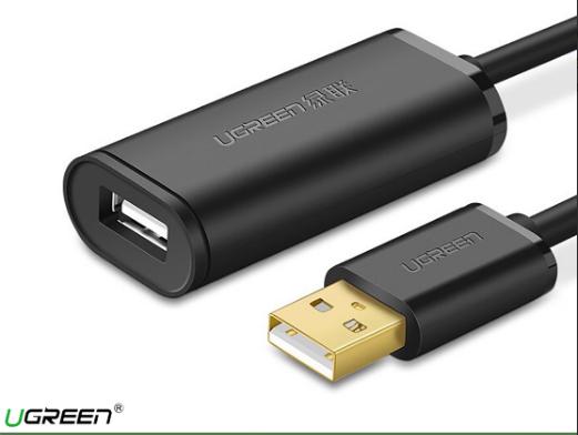 Cáp USB nối dài có chíp khuếch đại Chính Hãng Ugreen US121