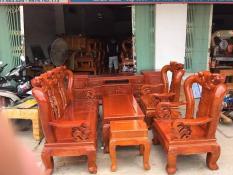 Bộ bàn ghế Minh Quốc Đào gỗ xoan