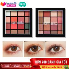 Bảng phấn mắt Lameila 16 màu long lanh siêu đẹp bảng màu mắt phấn trang điểm mắt nội địa Trung XP-PM091