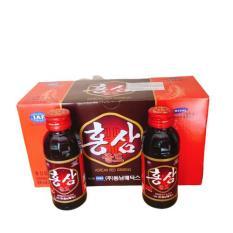 Nước hồng sâm Hàn Quốc hộp 10 chai 100ml