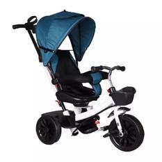 Xe đạp 3 bánh ghế xoay 2 chiều có tay đẩy, mái che và đệm JIAJIABAO