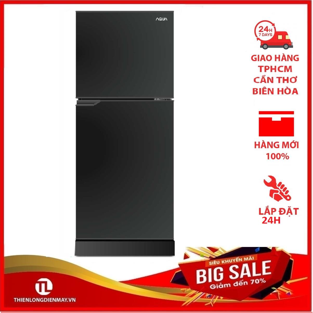 TRẢ GÓP 0% – Tủ lạnh Aqua 130 lít AQR-T150FA BS