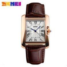 [100% Genuine]SKMEI Brand Luxury Retro Women's Casual Watches Waterproof Quartz Watch Women Fashion Dress Wristwatch – intl