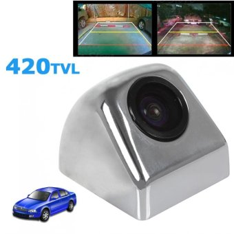 170 Degrees Car Rear View Backup Camera with Color Image Sensor (Silver) - intl