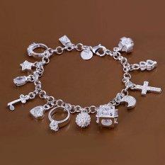 Chuỗi vòng đeo tay xinh xắn chất liệu bạc 925- INTL