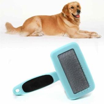 2 Colors Pet Dog Supplies Hair Pet Fur Brush Rakes Kits Dog NeedleComb - intl