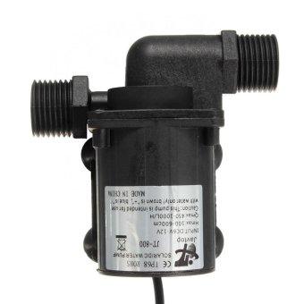 2pcs DC 12V 1000L/H Electric / Solar Brushless Motor Water PumpAquarium Fountain New - intl - 2