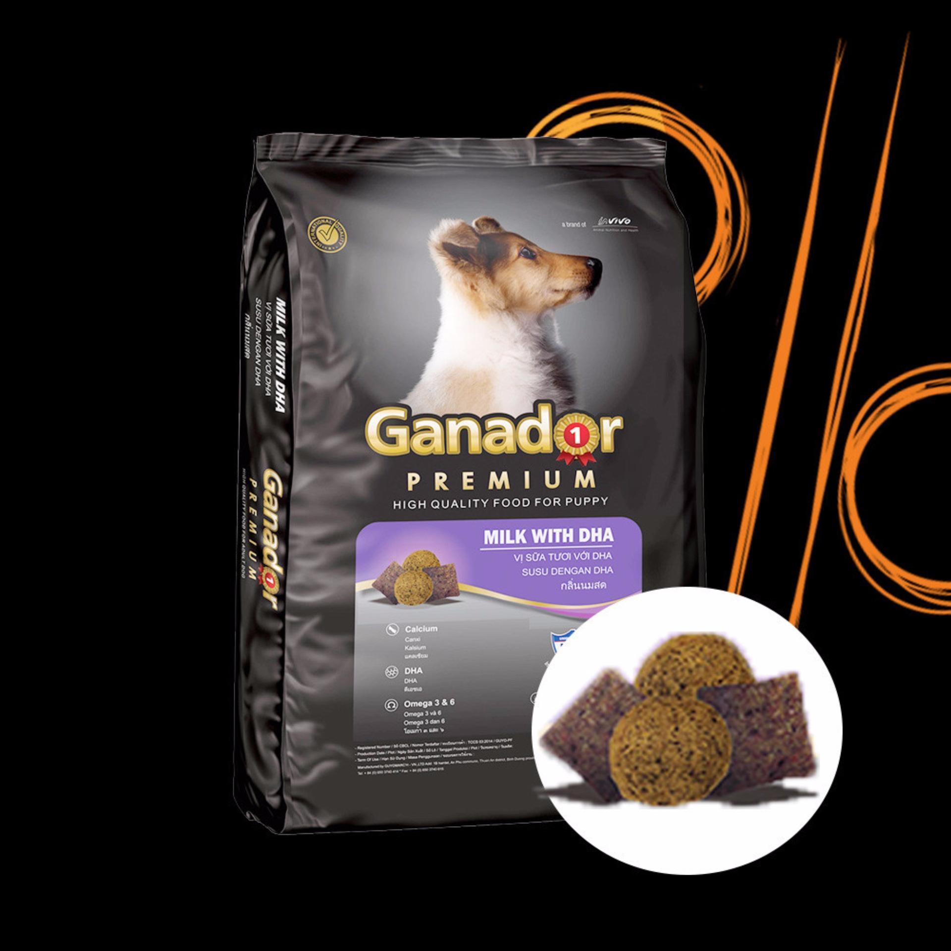 Nơi Bán 5 gói thức ăn cho chó con Ganador puppy 500gr