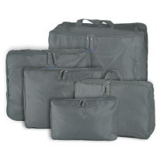 Túi du lịch túi lưu trữ túi trọng túi 5 trọng 1 Xám