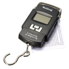50kg 10g Portable Handheld Electronic Digital LCD Travel Luggage Weighing Scale – Intl