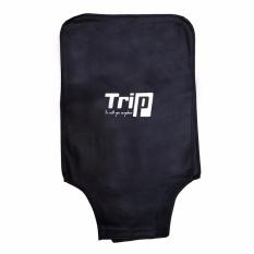 Áo trùm vali size 50cm-20inch (màu đen)