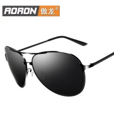 AORON 8009 Polarized sunglasses sunglasses men driving mirror bright mirror tide