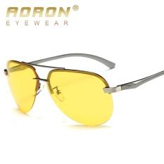KÍNH MÁT AORON A143 mới kính phân cực nhìn xuyên đêm, nhôm magie gương chân, kính nhìn xuyên đêm, lái xe tráng gương thời trang-quốc tế