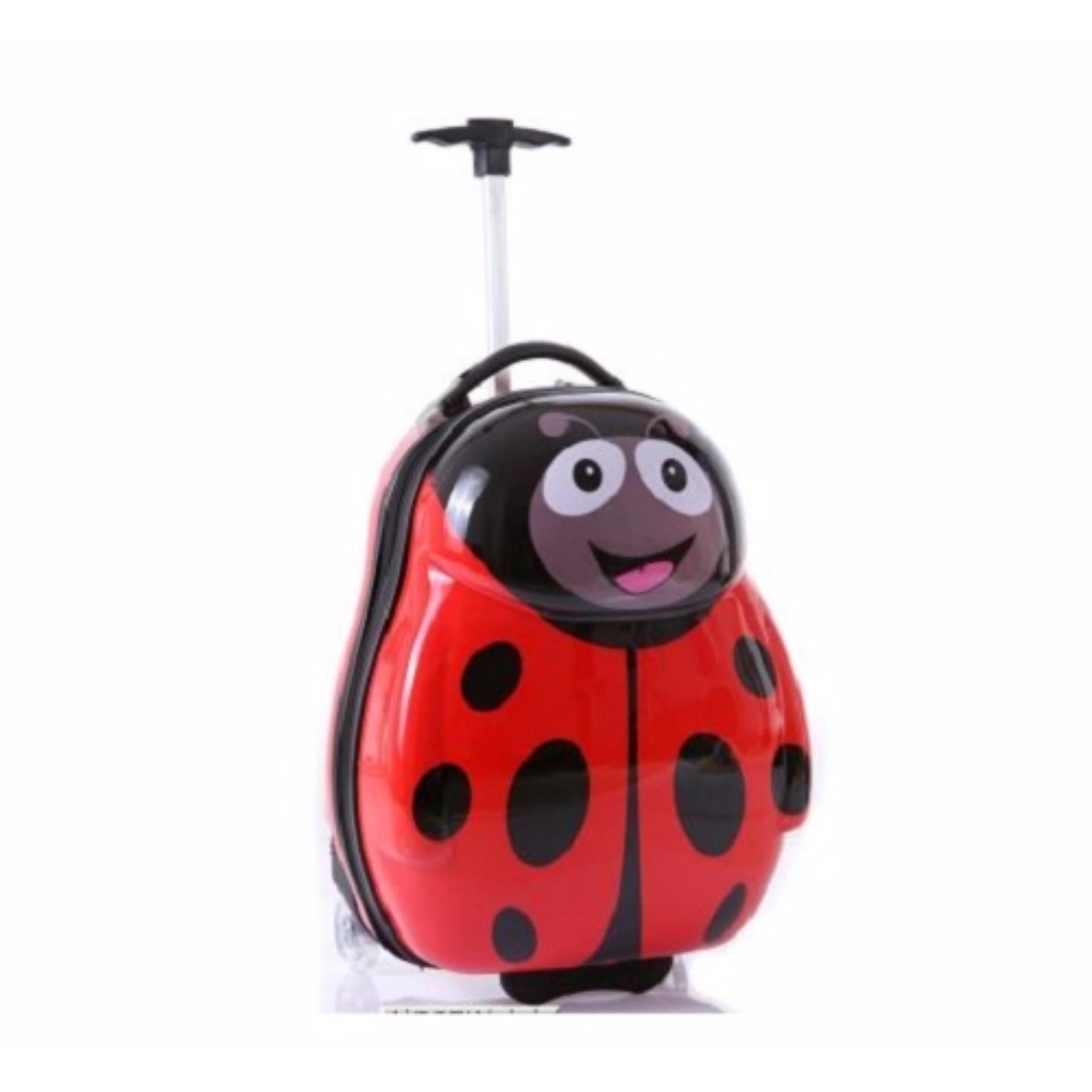 Ba lô kéo hoạt hình 3D dành cho bé Funny Bee-AL