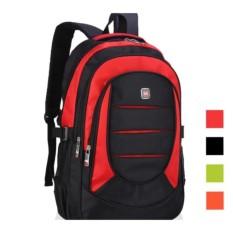 Ba lô laptop cao cấp (đen phối đỏ)