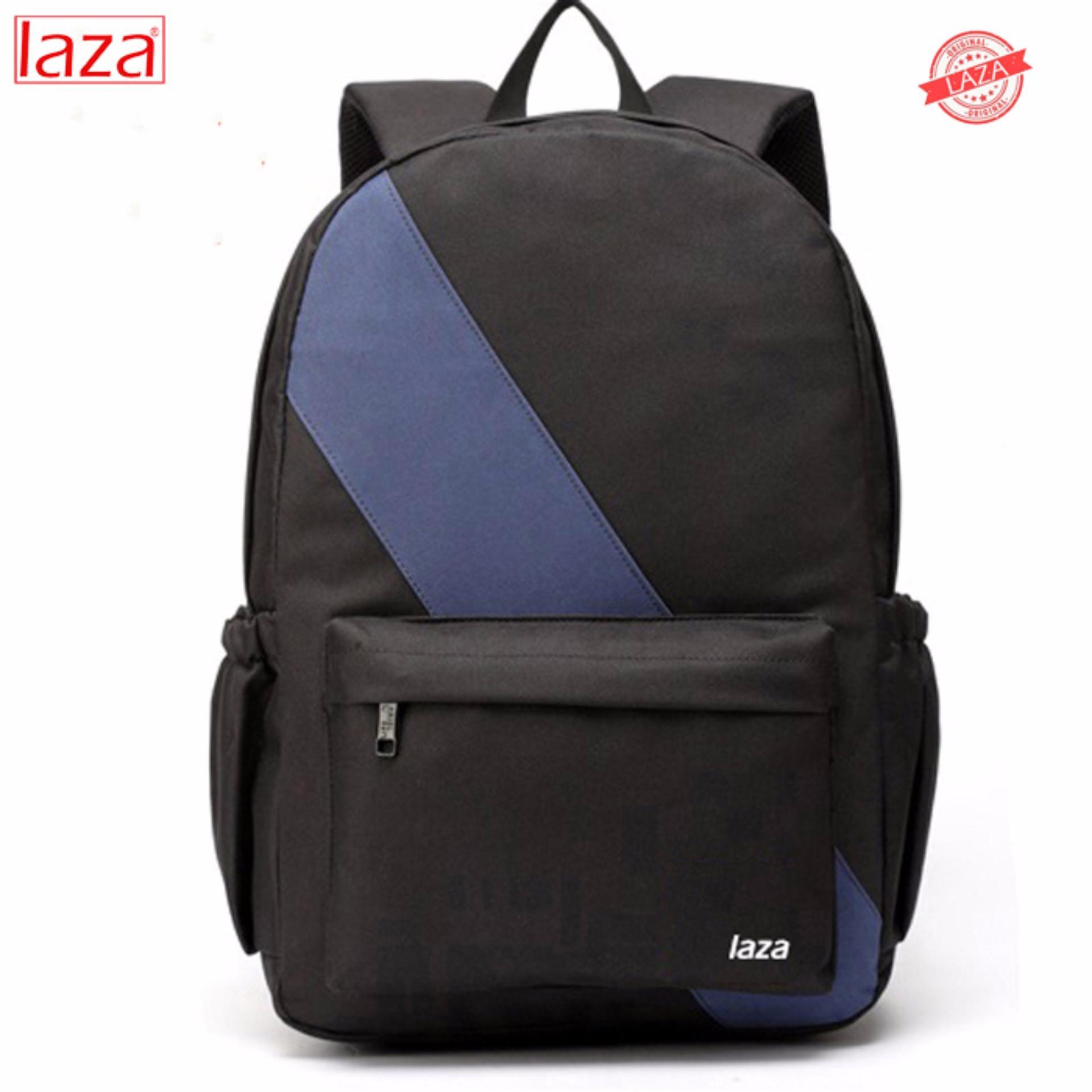 Ba Lô Laptop Hàn Quốc LAZA BL278 (ĐEN)