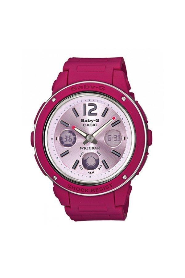 Baby-G BGA-150-4B – Đồng hồ nữ / Dây nhựa (Hồng đậm)