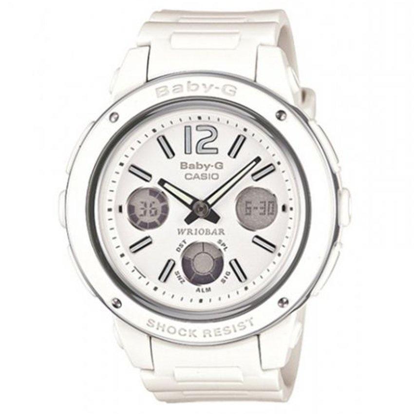 Baby-G BGA-150-7B – Đồng hồ nữ / Dây nhựa (Trắng)