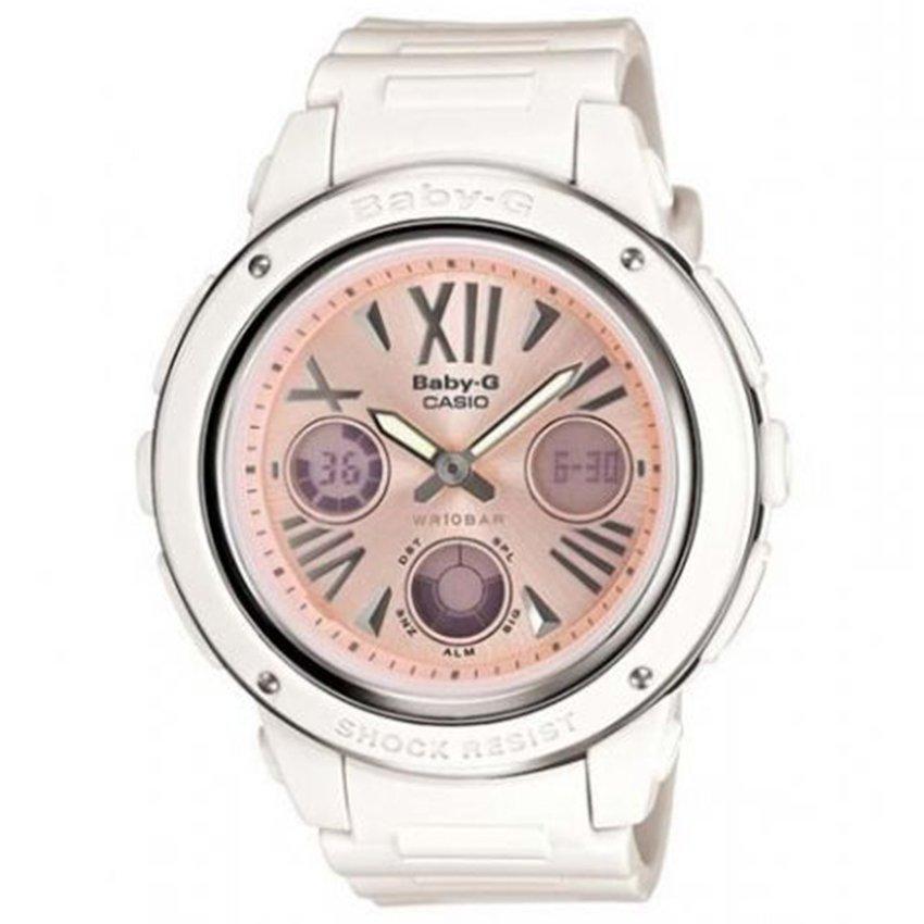 Baby-G BGA-152-7B2 – Đồng hồ nữ / Dây nhựa (Trắng)