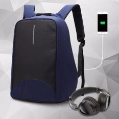 Balo laptop chống trộm coolbell 8001 15.6′ (Xanh than)
