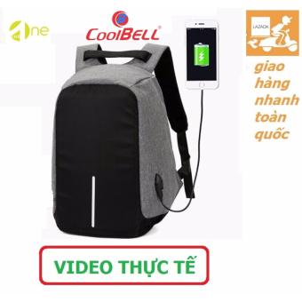 Balo laptop chống trộm coolbell 8001