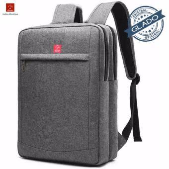 Balo Laptop Glado Cylinder Màu Xám BLC011 - Hãng Phân Phối Chính Thức