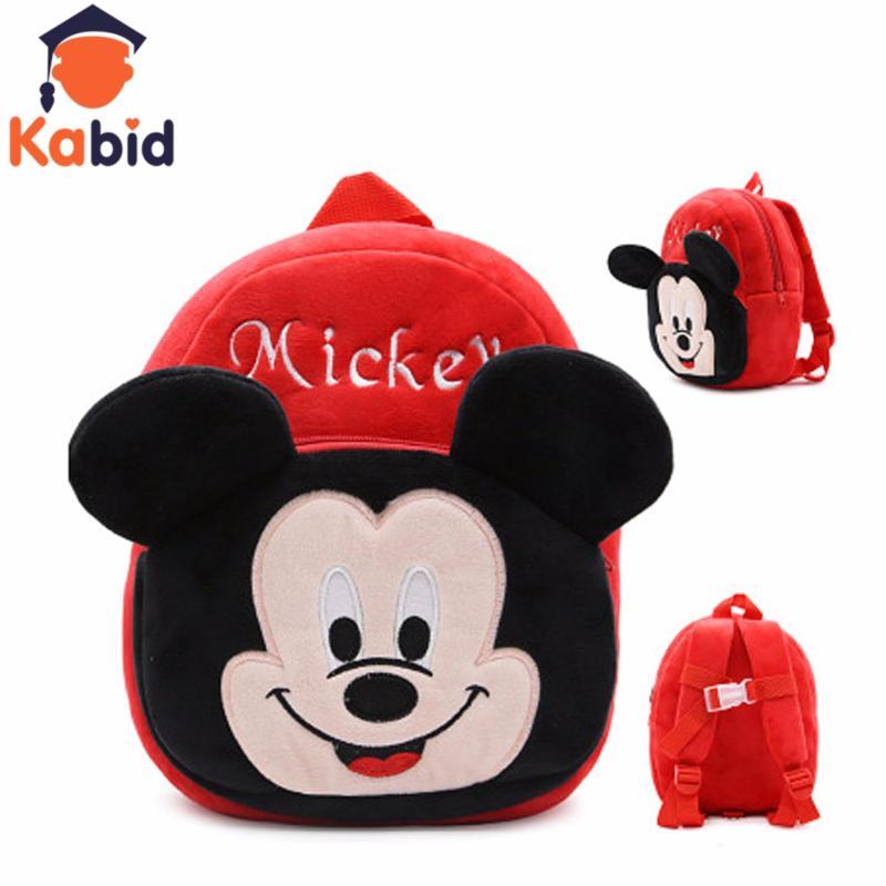 Giá bán Balo mầm non Kabid Hình Mickey ( ĐỎ)
