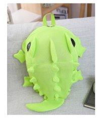 Balo mẫu giáo – cá sấu/xanh lá cây