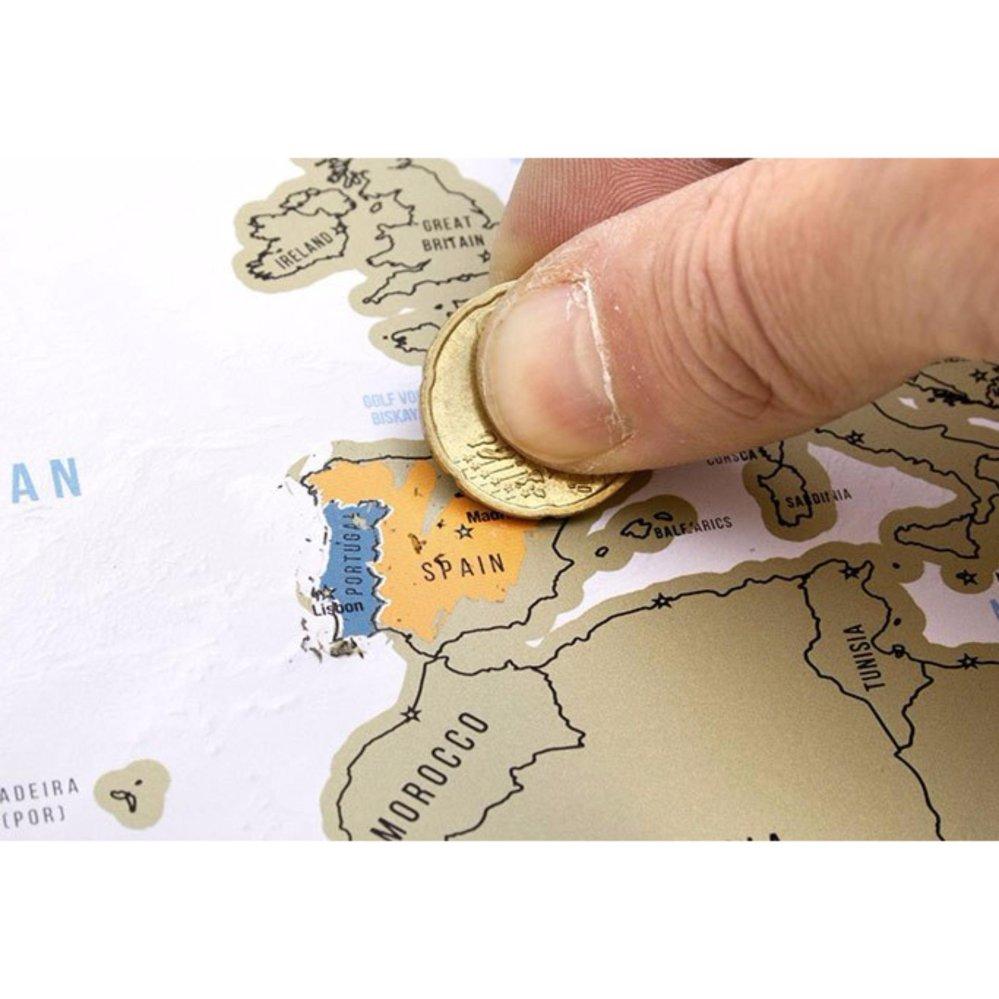 Bản đồ cào (scratch map)