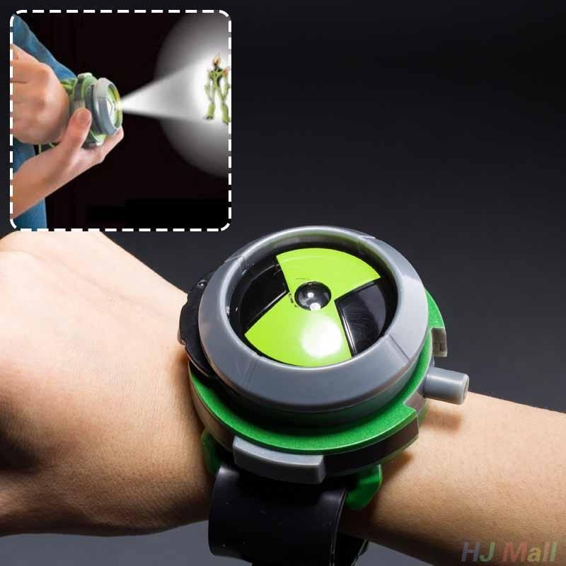 BANDAI Ben10 Projector Watch Cartoons Watches Toy Ben 10 Projector Birthday Kids - intl bán chạy