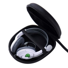 Black EVA Carrying Hard Case Cover for Headphones Headset Earphone Storage – intl