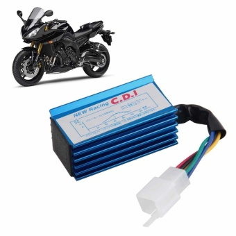 Blue and Durable Performance Racing 5 pin CDI Box Ignition Coil forPit Bike HONDA XR50 CRF50 50 70 90 110 125cc - intl