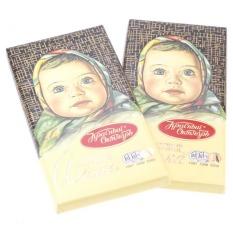 Bộ 2 Chocolete thanh em bé Krasny oktiabr AL 100g