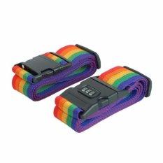 Bộ 2 dây đai khóa số cho vali du lịch