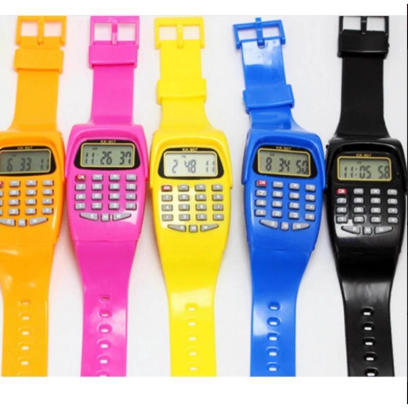 Bộ 2 đồng hồ đeo tay kiêm máy tính cho bé SGT bán chạy