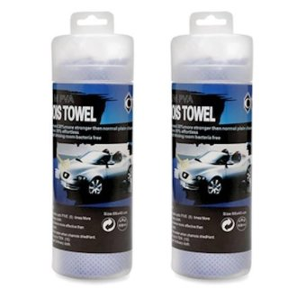 Bộ 2 khăn kỹ thuật lau xe siêu thấm nước 60x40 cm