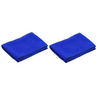 Bộ 2 khăn lau xe ô tô siêu sạch to 60x40cm