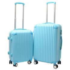 Bộ 2 vali nhựa cứng SAM 20+24 inch (Xanh)