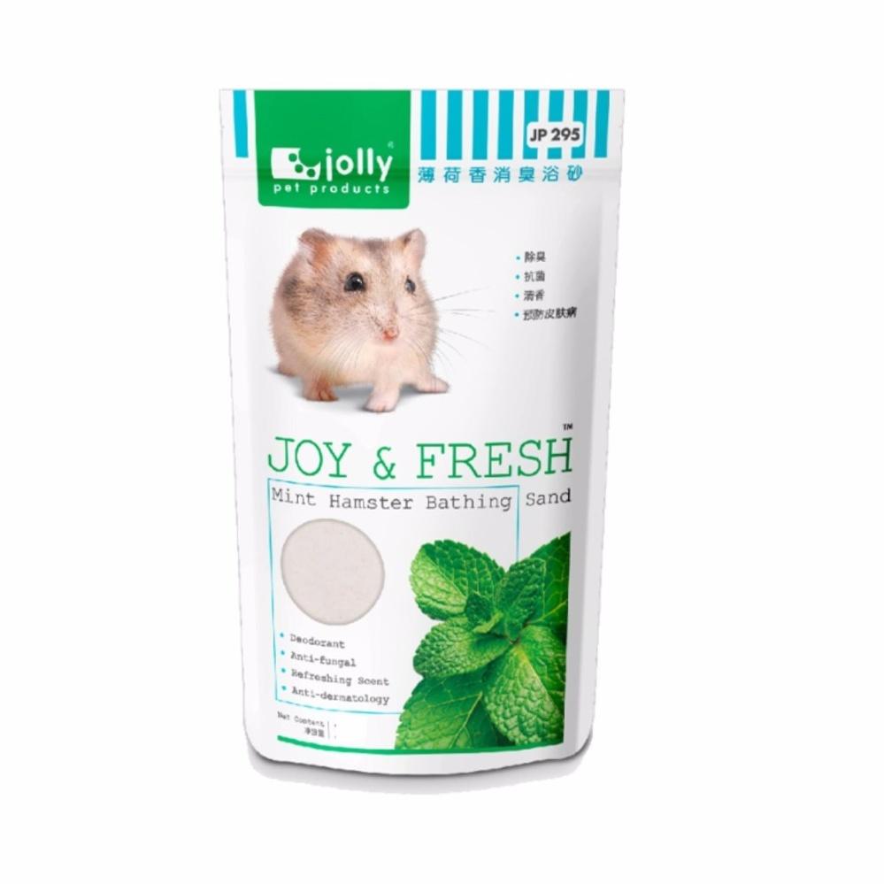 Bộ 3 gói cát tắm diệt khuẩn Jolly bạc hà cho hamster 500g