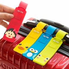 Bộ 4 Thẻ Đeo hành lý , Vali Xinh Xắn Tiện Lợi