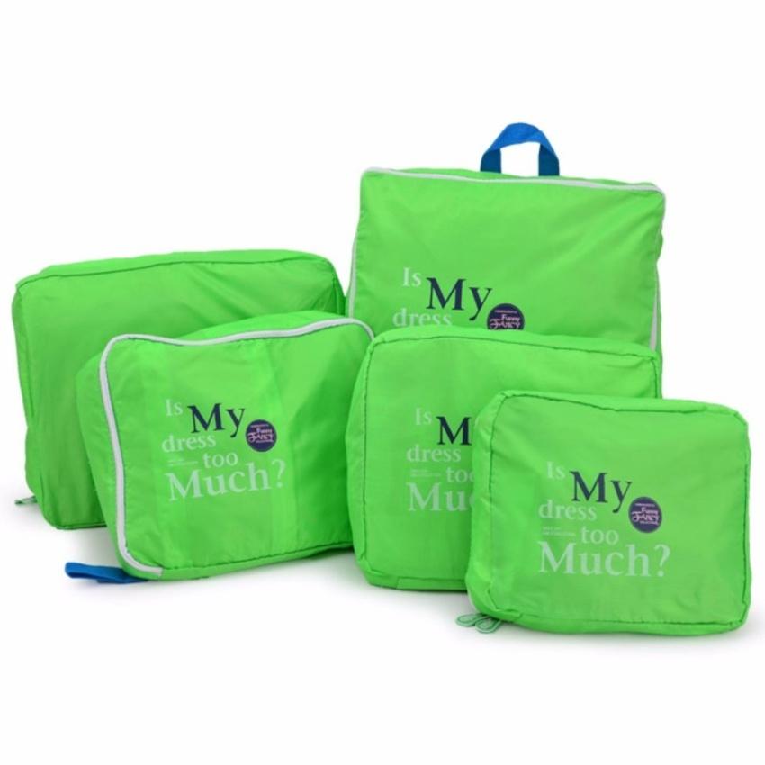 Bộ 5 túi Bag in bags tiện dụng (Xanh dương)