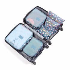 Đánh Giá Bộ 6 túi du lịch chống thấm Bags in Bag – Hoa đồng tiền xanh