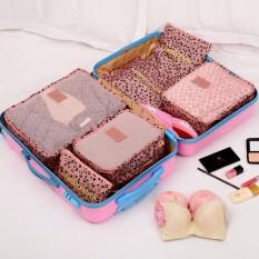 Bộ 6 túi du lịch chống thấm Bags in Bag – Nâu đậu