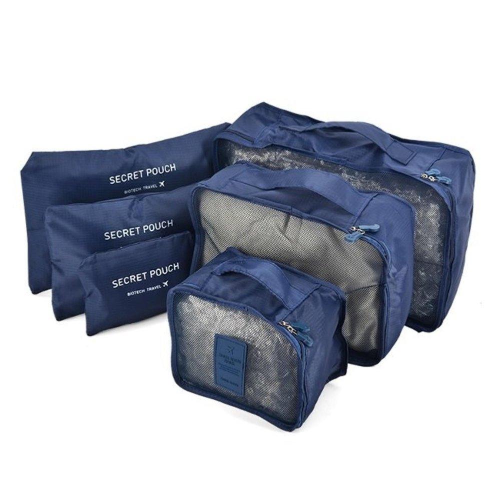 Giá bán Bộ 6 túi du lịch chống thấm Bags in Bag ( Xanh dương đậm)