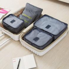 Bộ 6 túi du lịch chống thấm Bags in Bag – Xanh dương đậm sao 4 cánh