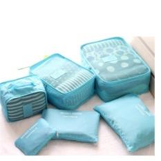 Bộ 6 túi du lịch chống thấm Bags in Bag (xanh dương nhạt)