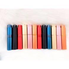 Giá Bộ 7 lọ chiết nước hoa 2 xanh 1 vàng 1 cam 1 hồng 1 đỏ 1 đen 10ml