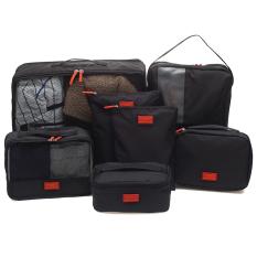 Bộ 7 túi du lịch cao cấp tiện dụng (Đen)