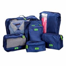 Bộ 7 túi đựng đồ du lịch cao cấp siêu tiện ích (Xanh)